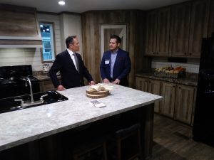Kentucky Gov. Matt Bevin Tours Homes