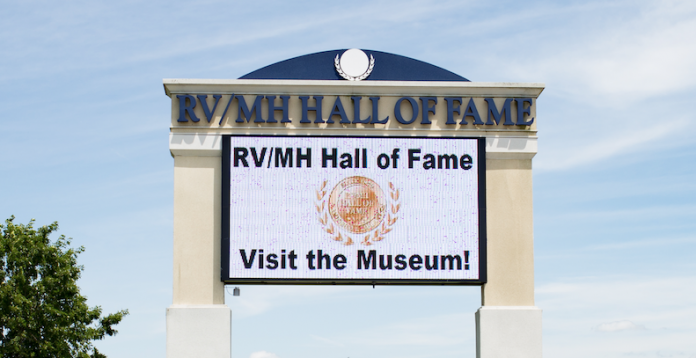 2021 hall of fame Induction class sign