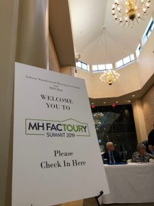 MH FacTOURy Summit presenters welcome sign