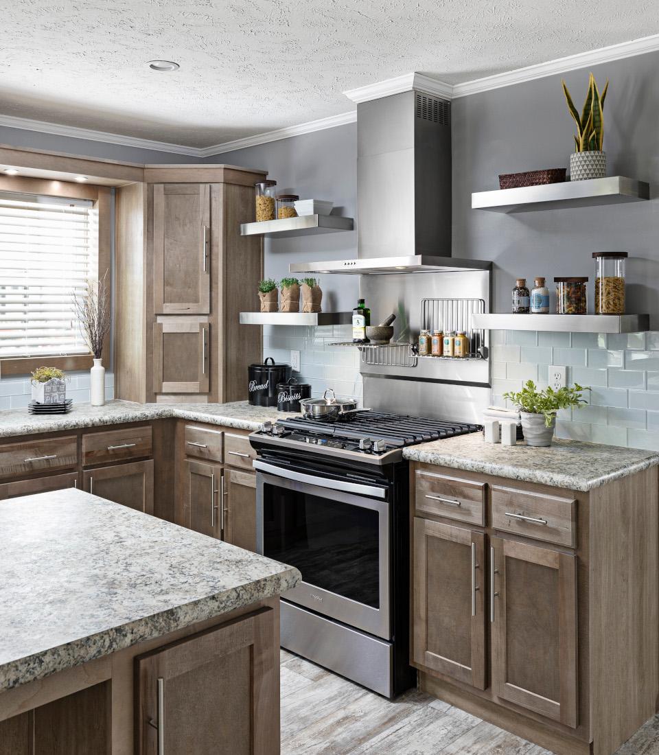 MH Advantage and CHOICE Home Champion UK3 kitchen design