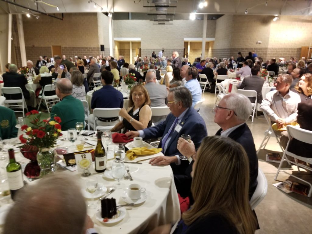 Hall of Fame induction dinner