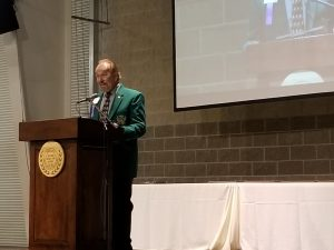 Hall of Fame induction dinner acceptance speech