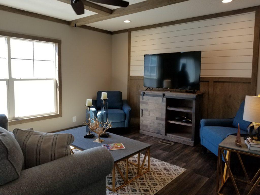 Interior manufactured home portfolio valuation