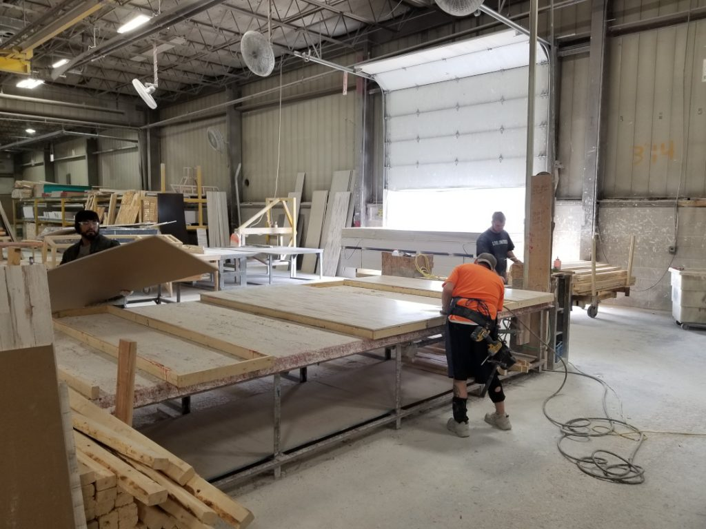 Labor in manufactured housing Fairmont factory