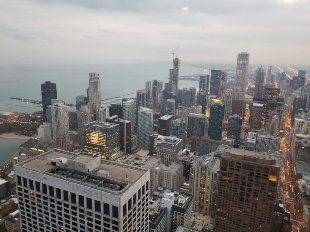 NCC Fall Leadership Forum Chicago skyline