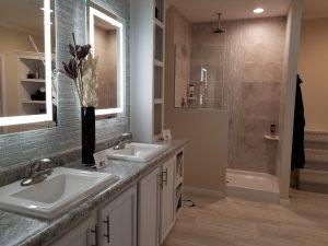 Adventure bathroom vanity shower CrossMod