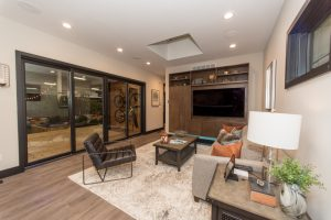 Woodstock living room Slate Homes