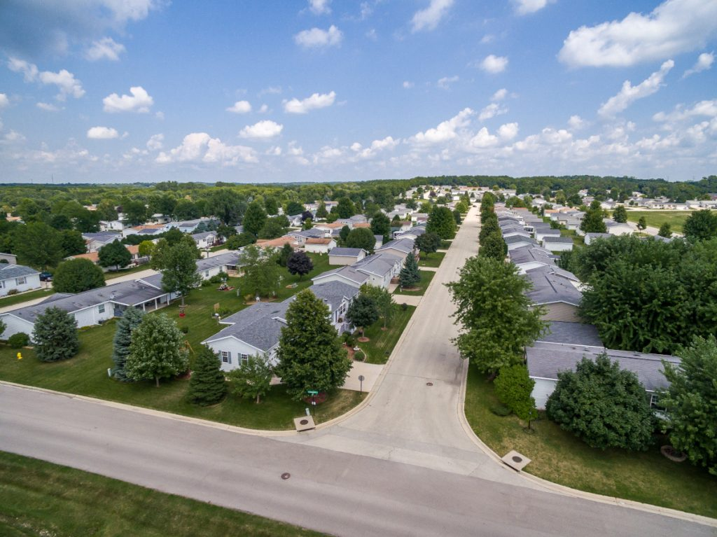 manufactured home community greenfield project