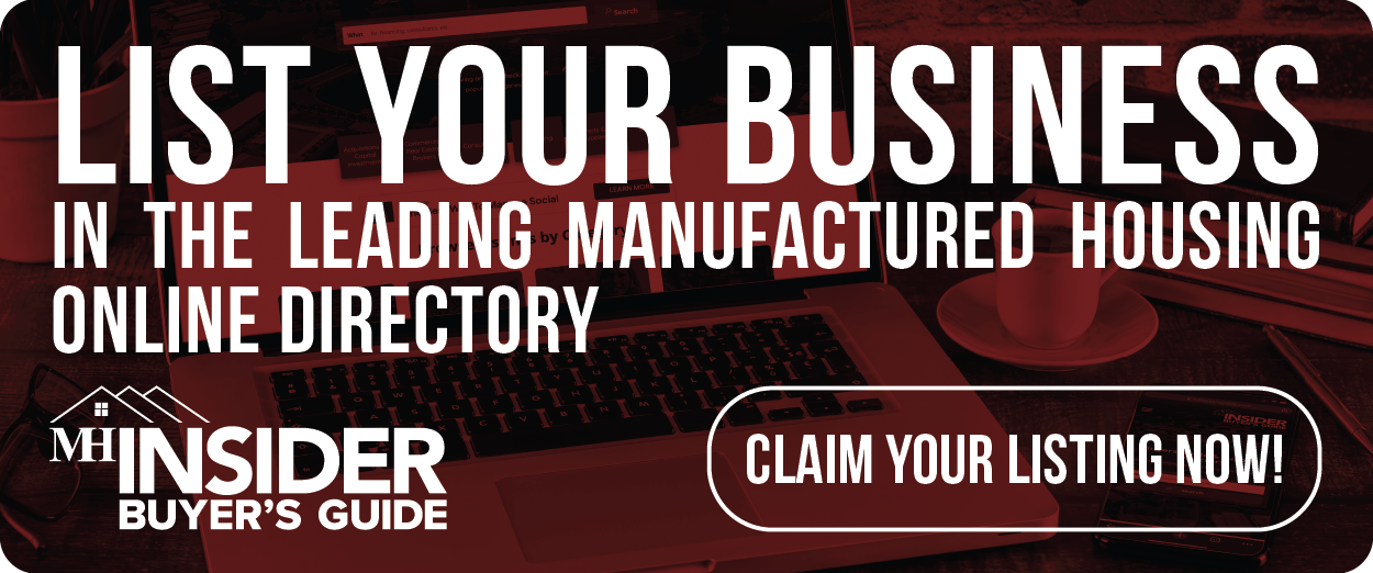 Search the Manufactured Housing Supplier Directory