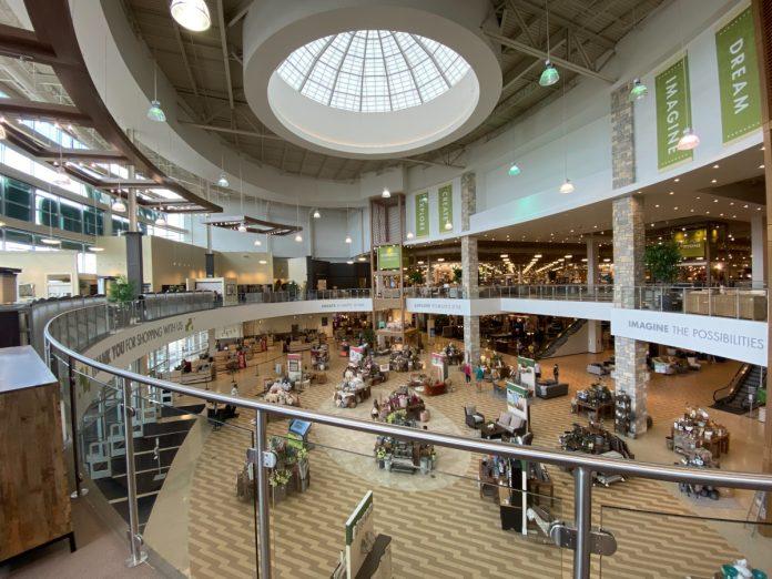 interior design project retail Nebraska furniture mart
