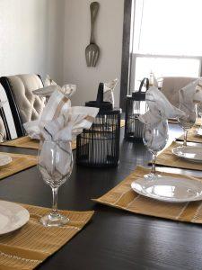 interior design project dining set