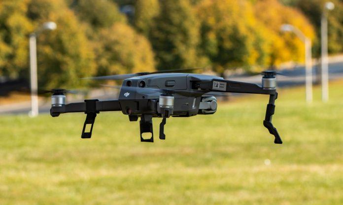 drone mapping black field
