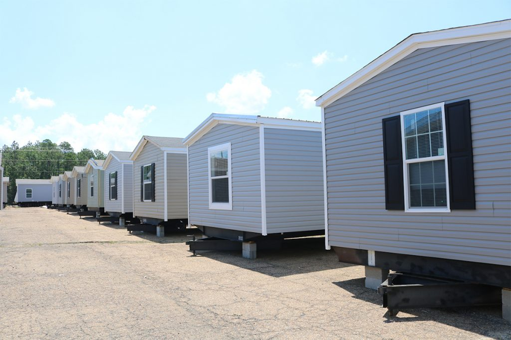 Regional Homes sales lot inventory