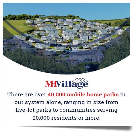 Find mobile home parks on MHVillage