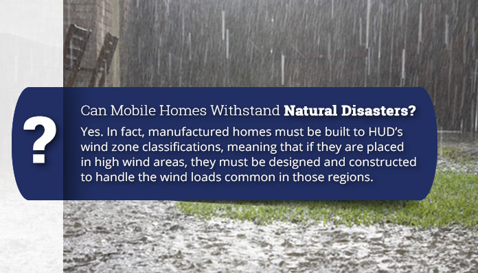 are mobile homes safe?
