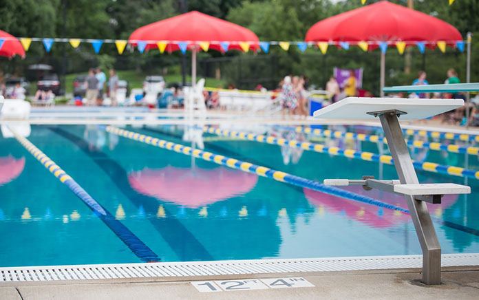manufactured home community pool