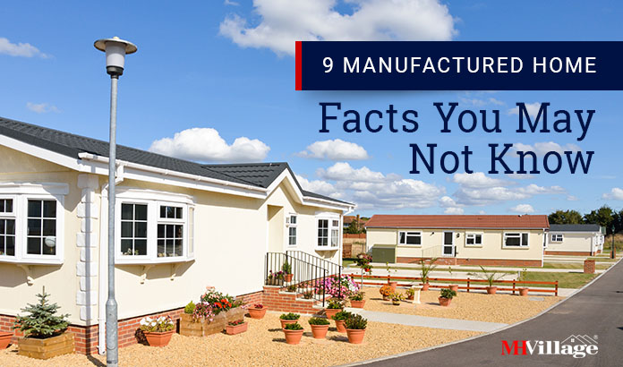 manufactured home facts
