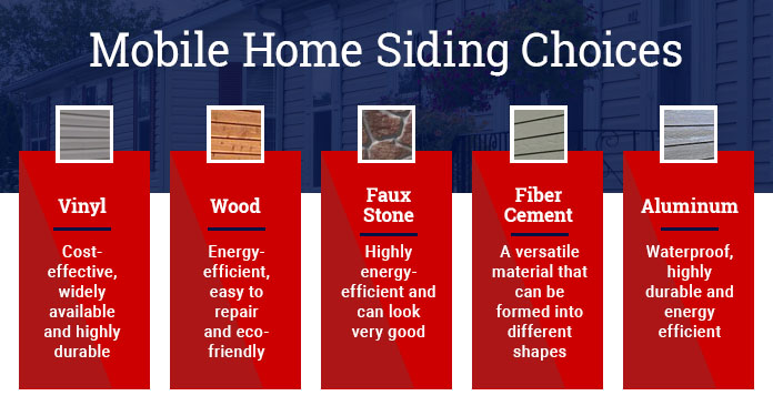 mobile home siding choices and options