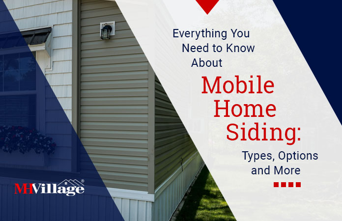Everything you need to know about mobile home siding