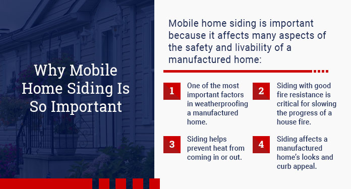 why mobile home siding is so important