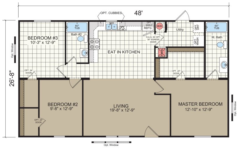 How To Read And Understand Mobile Home Floor Plans Mhvillage