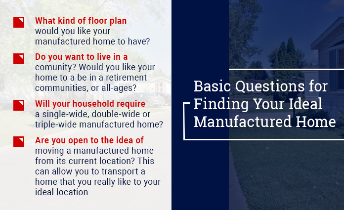 questions to ask when buying a manufactured home