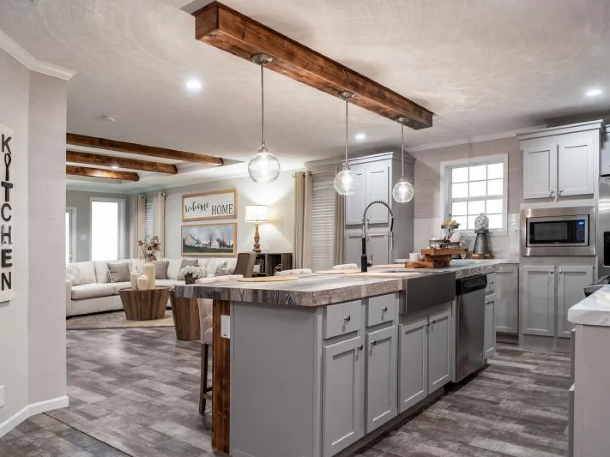 Beautiful Farmhouse Mobile Homes   Featured Homes on MHVillage