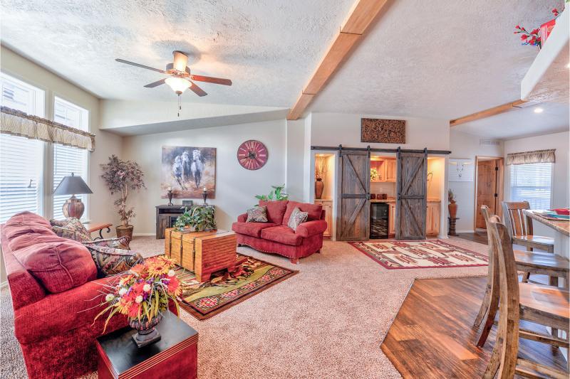 Big mobile homes living room