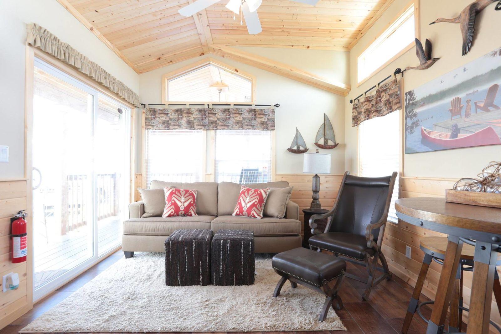 Log Cabin Mobile Homes - Athens Park Model