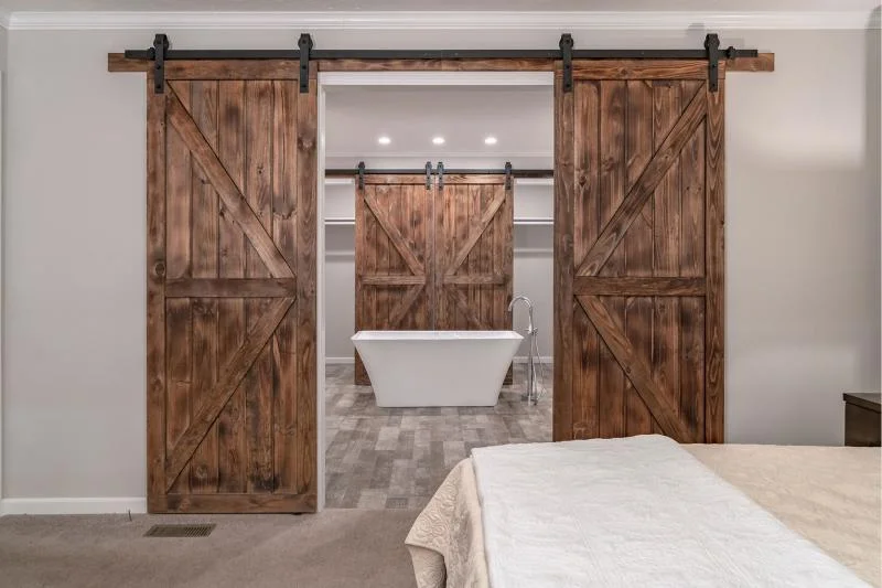 luxury mobile home sliding doors