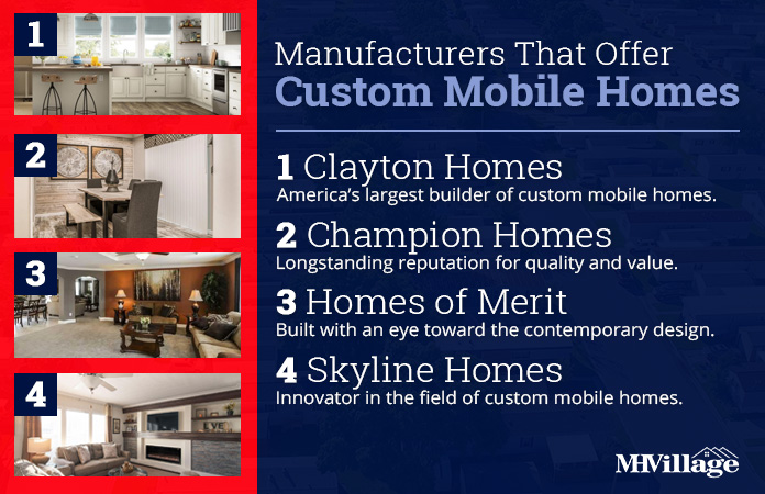 custom mobile home manufacturers
