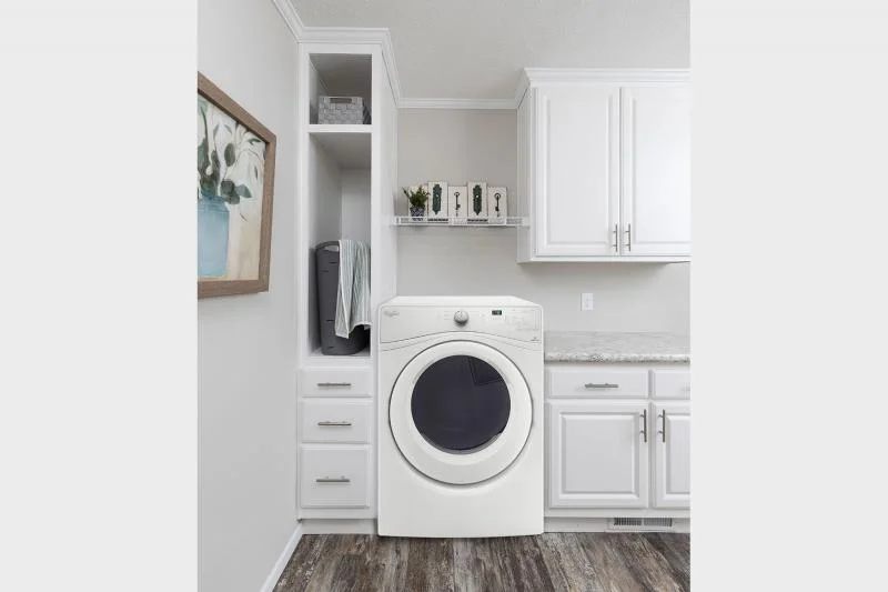 mobile home laundry room