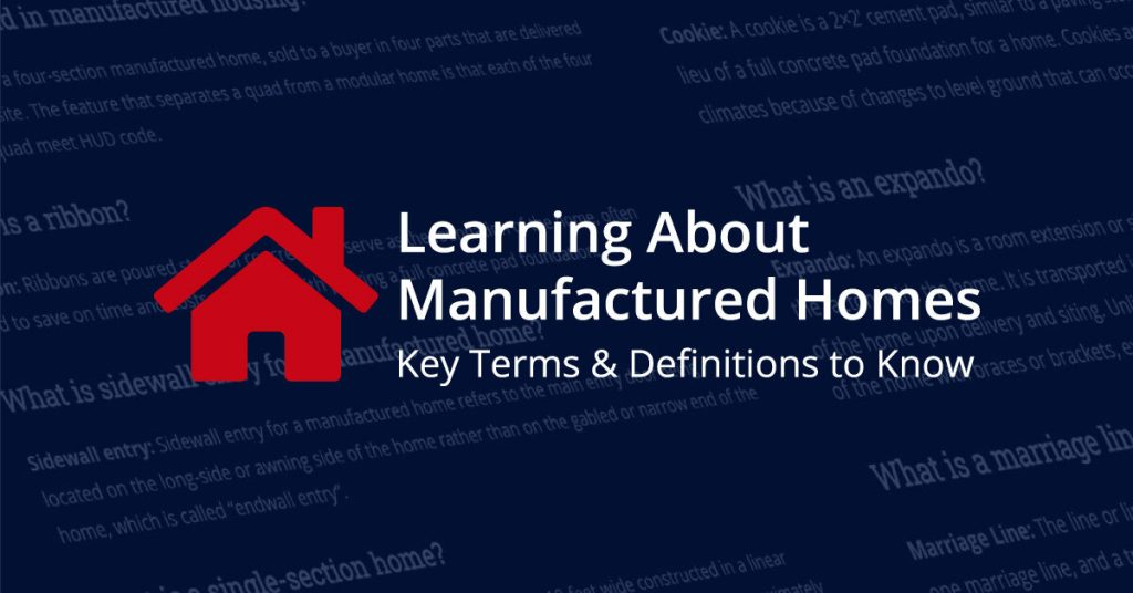 Mobile Home Terms and Definitions