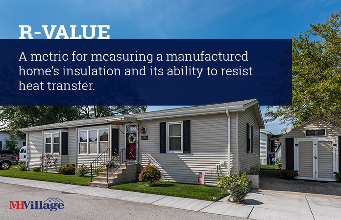 R-Value manufactured home insulation