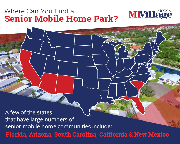 Where Can You Find a Senior Mobile Home Park?
