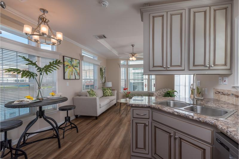 small manufactured homes skyline park model home