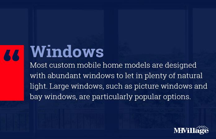 custom mobile home windows