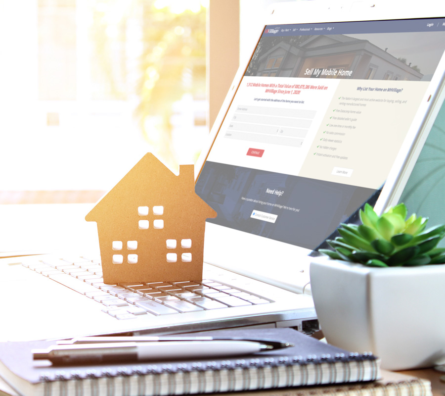 Finding mobile home buyers