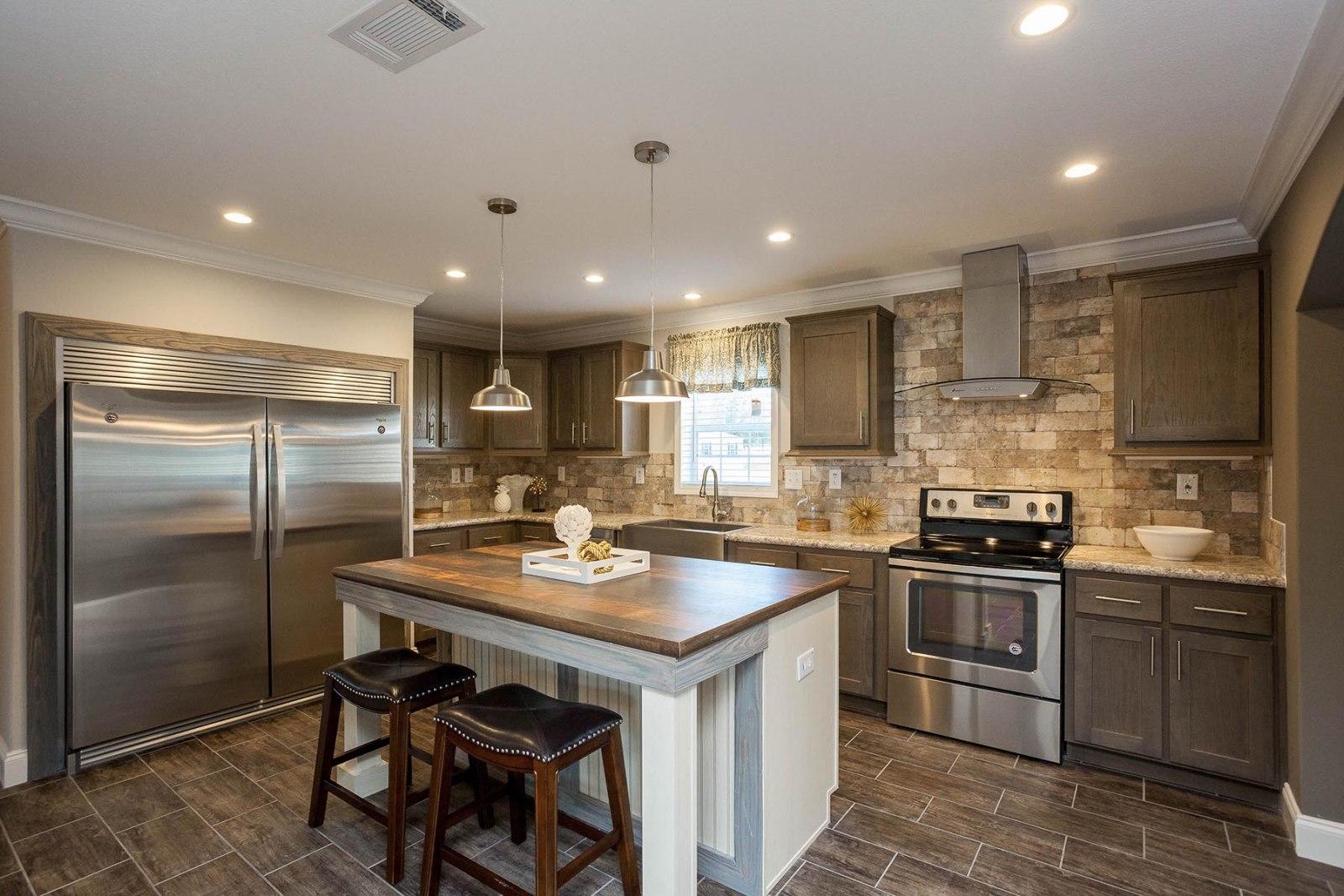mobile home interior kitchen