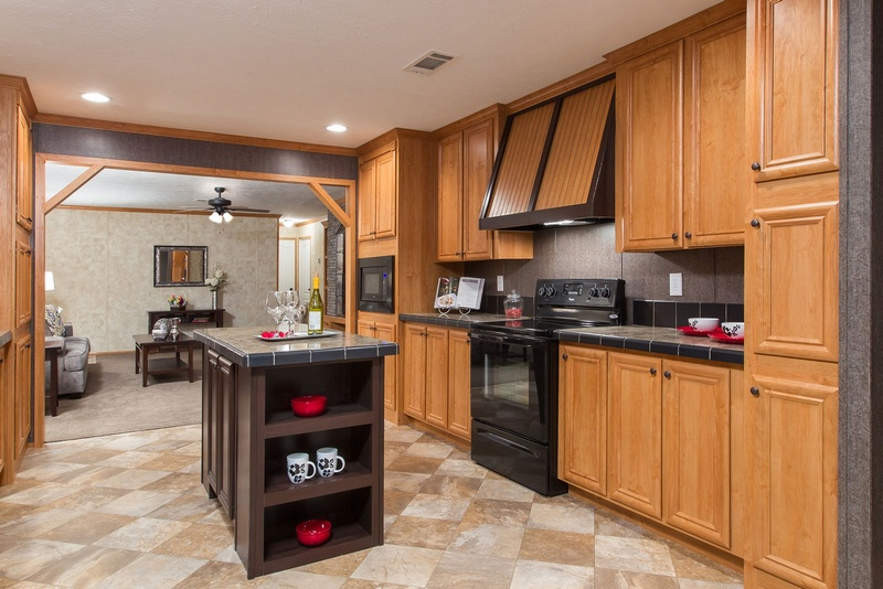 Mobile home kitchen decorating